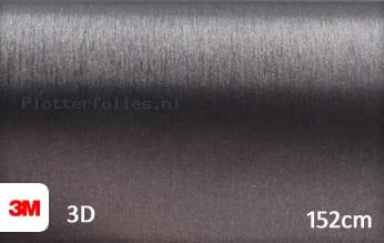 3M 1080 BR201 Brushed Steel plotterfolie