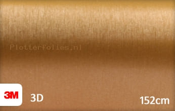 3M 1080 BR241 Brushed Gold plotterfolie