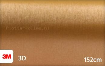 3M 1080 BR241 Brushed Gold plotterfolie