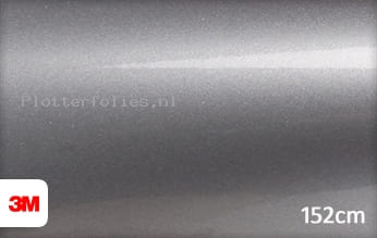 3M 1080 G251 Gloss Sterling Silver plotterfolie