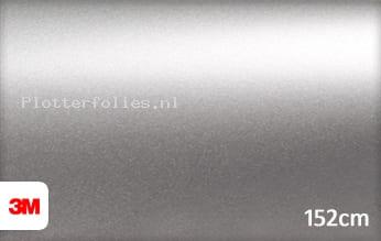3M 1080 S120 Satin White Aluminium plotterfolie