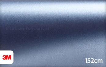 3M 1380 S257 Satin Ice Blue Metallic plotterfolie