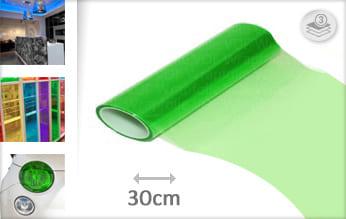Groen lampen plotterfolie