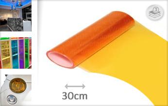 Oranje lampen plotterfolie