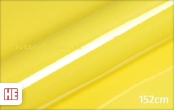 Hexis HX20108B Lemon Yellow Gloss plotterfolie