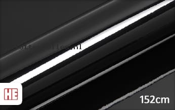 Hexis HX20889B Coal Black Gloss plotterfolie
