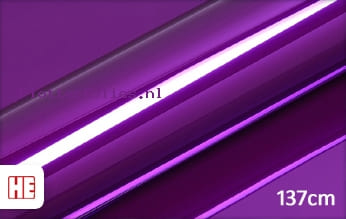 Hexis HX30SCH06B Super Chrome Purple Gloss plotterfolie