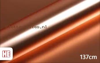Hexis HX30SCH12S Super Chrome Rose Gold Satin plotterfolie