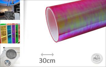 Flipflop roze transparant plotterfolie
