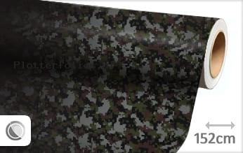 Camouflage digitaal plotterfolie