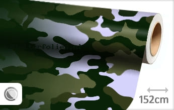 Camouflage groen plotterfolie