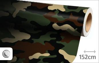 Camouflage leger plotterfolie