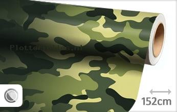 Camouflage oerwoud plotterfolie