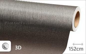 Geborsteld aluminium antraciet plotterfolie