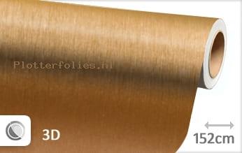 Geborsteld aluminium goud plotterfolie