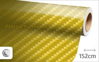 Geel 2D carbon plotterfolie