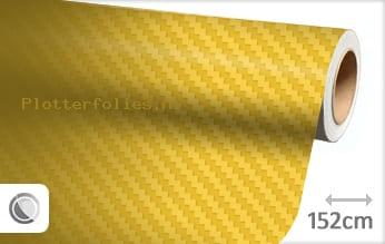 Geel 3D carbon plotterfolie