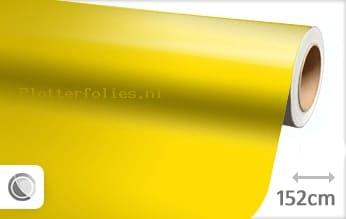 Glans geel plotterfolie