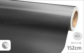Glans metallic antraciet plotterfolie