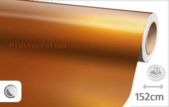 Glans metallic oranje plotterfolie
