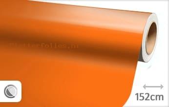 Glans oranje plotterfolie