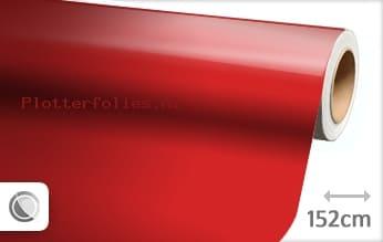 Glans rood plotterfolie