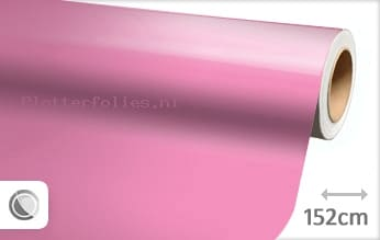 Glans roze plotterfolie