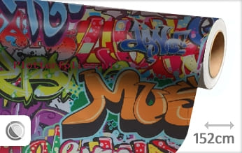 Graffiti plotterfolie