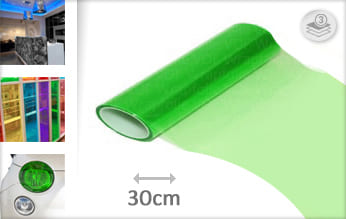 Groen tint plotterfolie