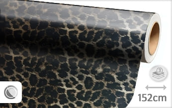 Luipaard print plotterfolie