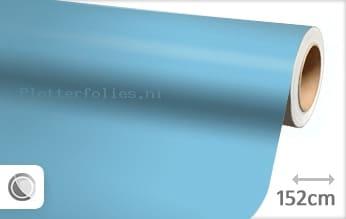 Mat babyblauw plotterfolie