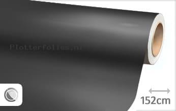 Mat chroom antraciet plotterfolie