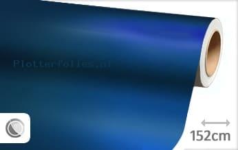 Mat chroom blauw plotterfolie