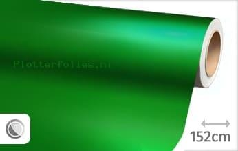 Mat chroom groen plotterfolie