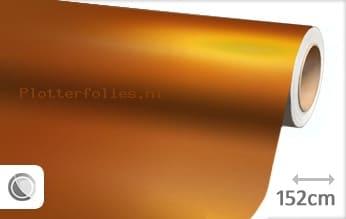 Mat chroom oranje plotterfolie