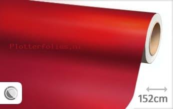 Mat chroom rood plotterfolie