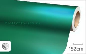 Mat chroom turquoise plotterfolie