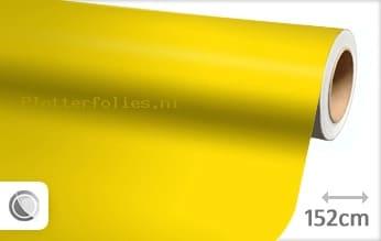 Mat geel plotterfolie