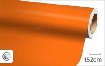 Mat oranje plotterfolie