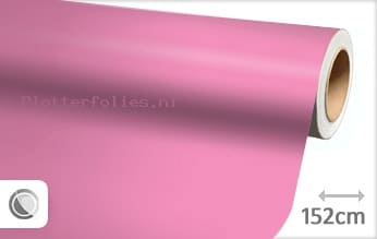 Mat roze plotterfolie