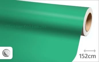 Mat turquoise plotterfolie