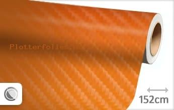 Oranje 4D carbon plotterfolie