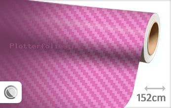 Roze 3D carbon plotterfolie