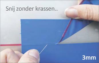 Snijdend wrap tape