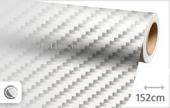 Wit 2D carbon plotterfolie