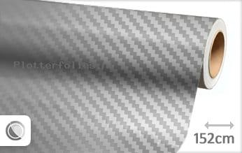 Zilver chroom 3D carbon plotterfolie