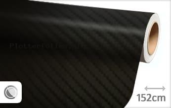 Zwart 4D carbon plotterfolie